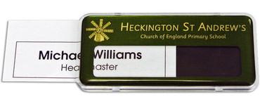 Reusable Name Badges | Name Tags - Name Badges International